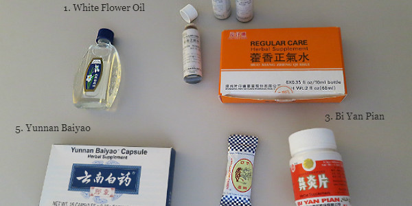 What I pack: Chinese Herbal remedies for travel