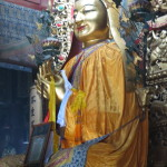 Buddha at Yonghegong (Lama Temple)