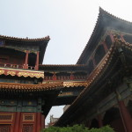 Beautiful roofs of Yonghegong (Lama Temple)