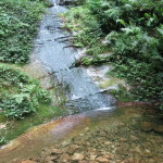 The area is full of crystal clear mountain streams