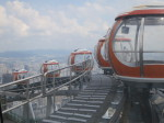 The world's highest observation deck at 1601 ft.