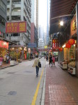 The Chinese herbal district on Hong Kong island