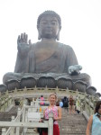 Me, in front of the Buddha
